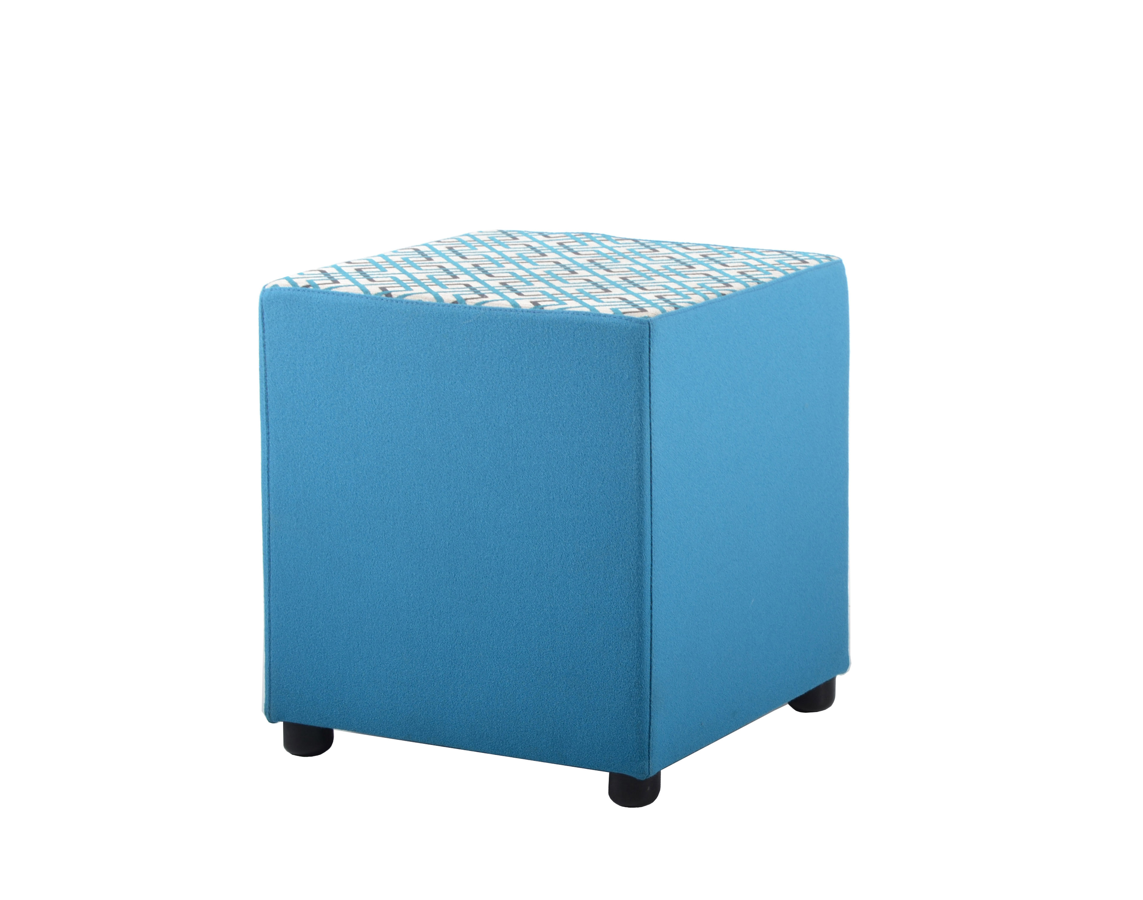 cube ottoman wallaces office